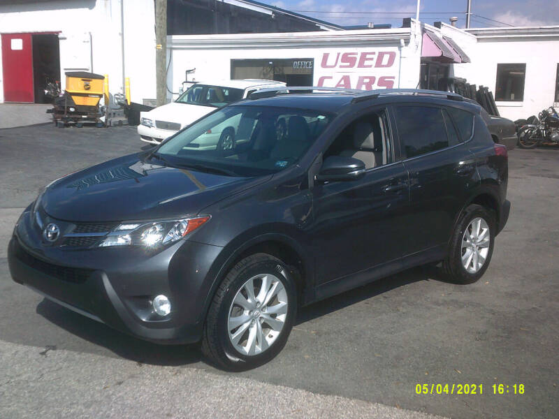 2015 Toyota RAV4 for sale at M & M Inc. of York in York PA