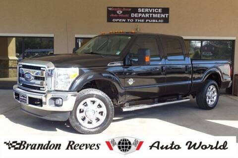 2014 Ford F-250 Super Duty for sale at Brandon Reeves Auto World in Monroe NC
