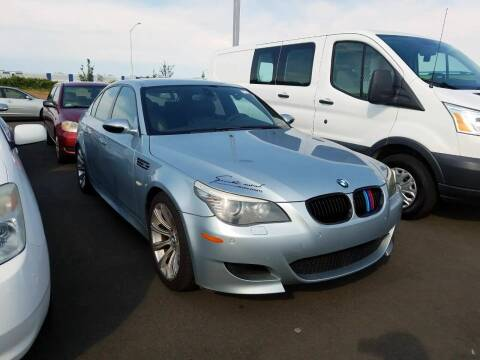 2008 BMW M5 for sale at McHenry Auto Sales in Modesto CA
