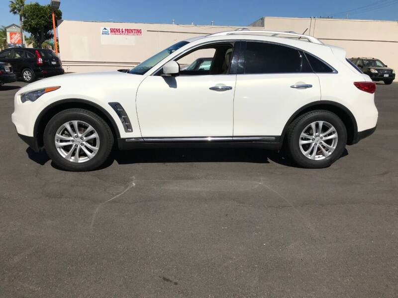 2013 Infiniti FX37 for sale at Shoppe Auto Plus in Westminster CA