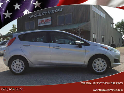 2015 Ford Fiesta for sale at Top Quality Motors & Tire Pros in Ashland MO