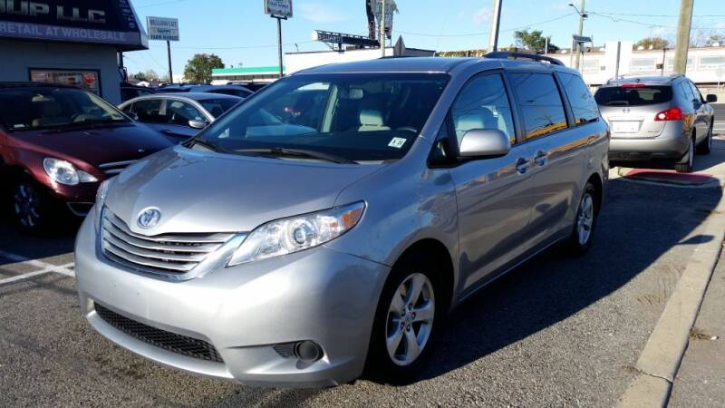 2016 Toyota Sienna for sale at Millennium Auto Group in Lodi NJ