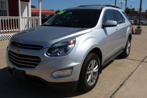 2016 Chevrolet Equinox for sale at AMT AUTO SALES LLC in Houston TX