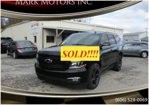 2015 Chevrolet Tahoe for sale at Mark Motors Inc in Gray KY