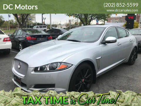2014 Jaguar XF for sale at DC Motors in Springfield VA