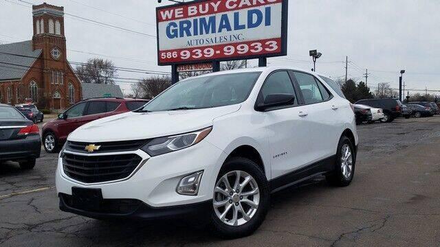 2018 Chevrolet Equinox for sale at Grimaldi Auto Sales Inc in Warren MI