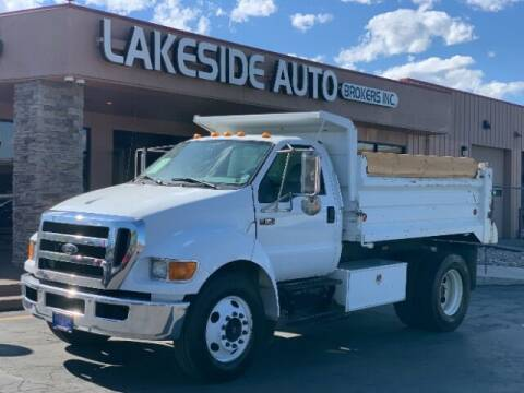 2007 Ford F-650 Super Duty for sale at Lakeside Auto Brokers Inc. in Colorado Springs CO