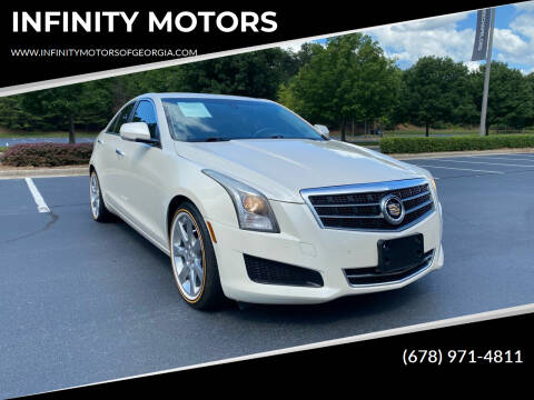 2014 Cadillac ATS for sale at INFINITY MOTORS in Gainesville GA
