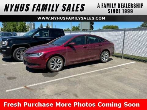 2016 Chrysler 200 for sale at Nyhus Family Sales in Perham MN