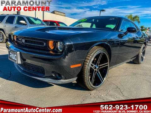 2018 Dodge Challenger for sale at PARAMOUNT AUTO CENTER in Downey CA
