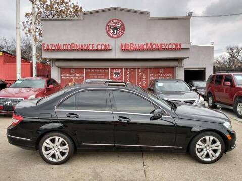 2011 Mercedes-Benz C-Class for sale at Eazy Auto Finance in Dallas TX