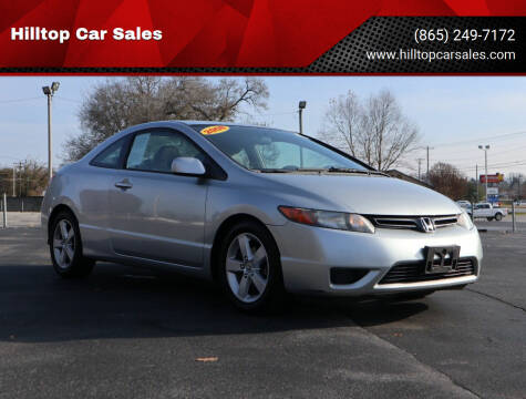 2008 Honda Civic for sale at Hilltop Car Sales in Knox TN