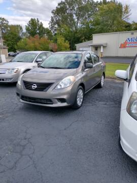 2014 Nissan Versa for sale at McCully's Automotive in Benton KY