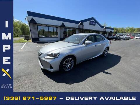 2018 Lexus IS 300 for sale at Impex Auto Sales in Greensboro NC