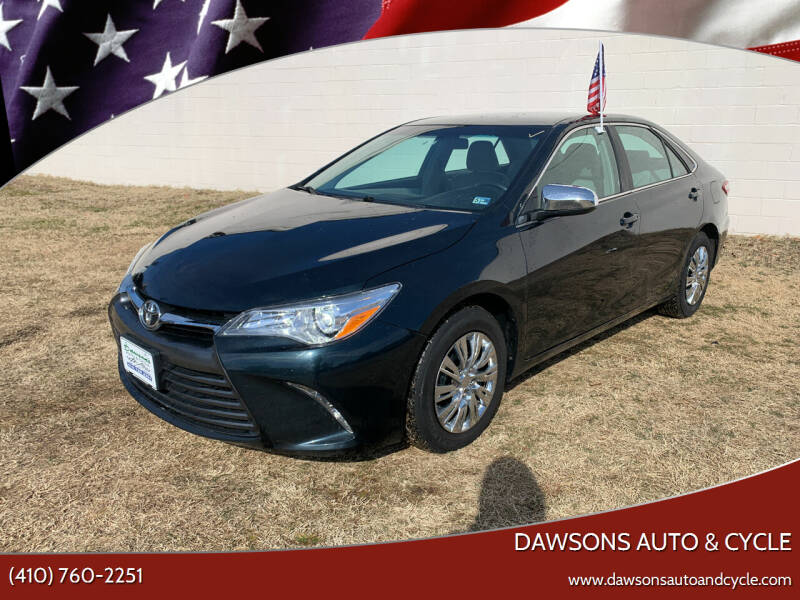2015 Toyota Camry for sale at Dawsons Auto & Cycle in Glen Burnie MD