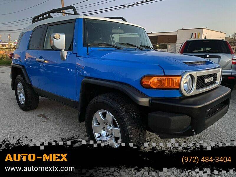 2007 Toyota FJ Cruiser for sale at AUTO-MEX in Caddo Mills TX