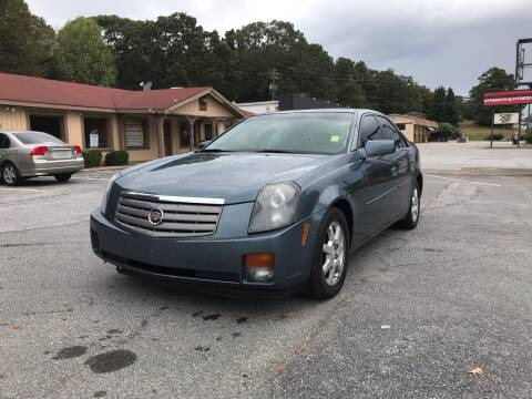 2005 Cadillac CTS for sale at CAR STOP INC in Duluth GA