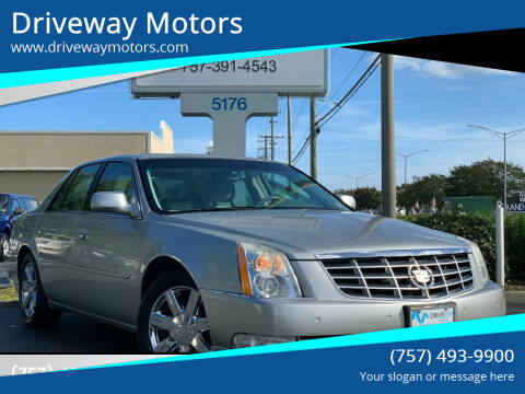 2006 Cadillac DTS for sale at Driveway Motors in Virginia Beach VA