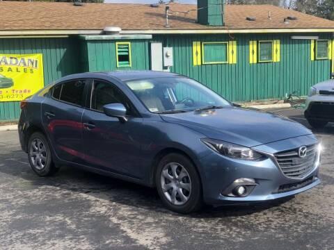 2015 Mazda MAZDA3 for sale at ALHAMADANI AUTO SALES in Spanaway WA