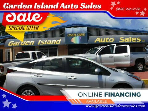 2021 Toyota Prius for sale at Garden Island Auto Sales in Lihue HI