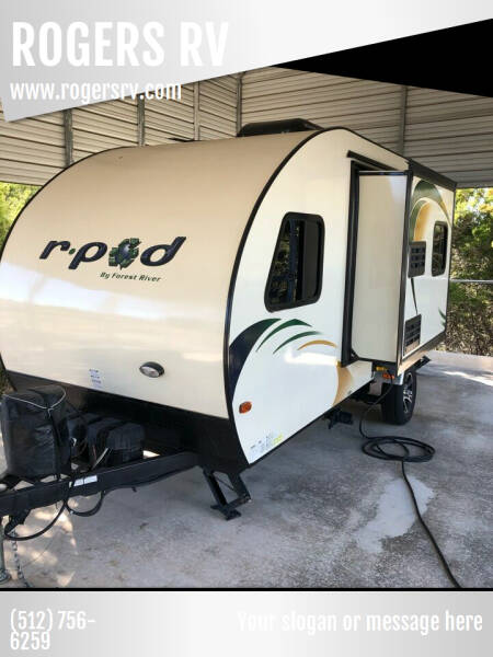 2014 Forest River R-Pod 178 for sale at ROGERS RV in Burnet TX