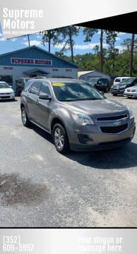 2010 Chevrolet Equinox for sale at Supreme Motors in Tavares FL