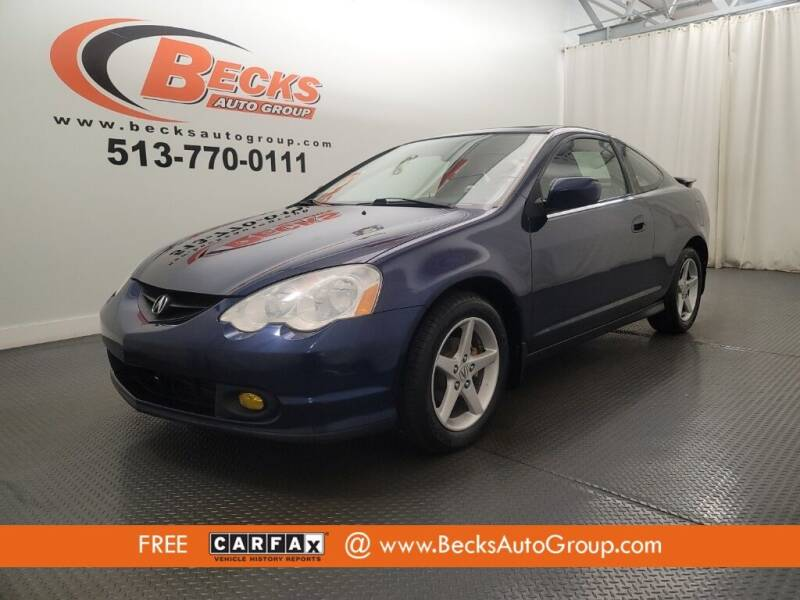 2003 Acura RSX for sale at Becks Auto Group in Mason OH