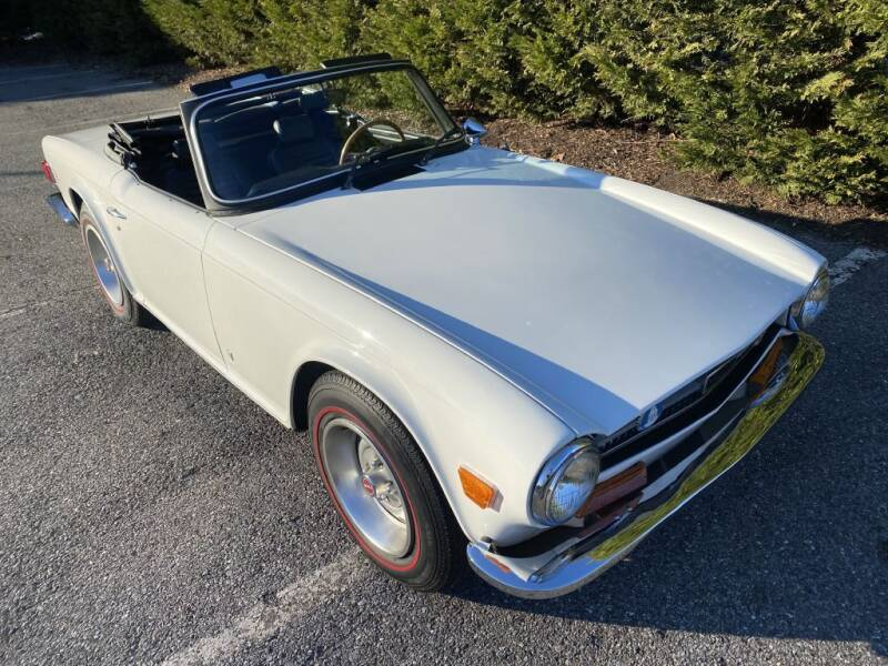 1974 Triumph TR6 for sale at Limitless Garage Inc. in Rockville MD