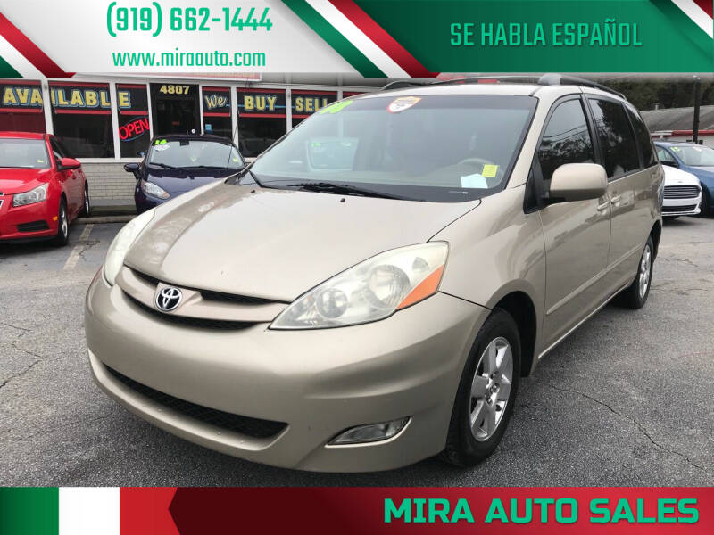 2008 Toyota Sienna for sale at Mira Auto Sales in Raleigh NC