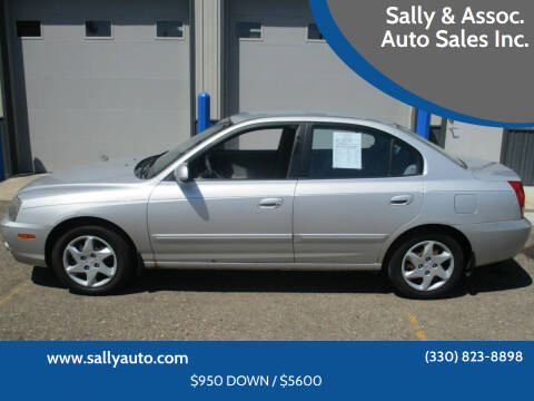 2004 Hyundai Elantra for sale at Sally & Assoc. Auto Sales Inc. in Alliance OH