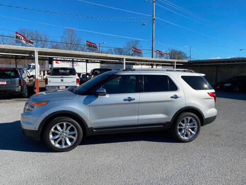 2012 Ford Explorer for sale at Lewis Used Cars in Elizabethton TN