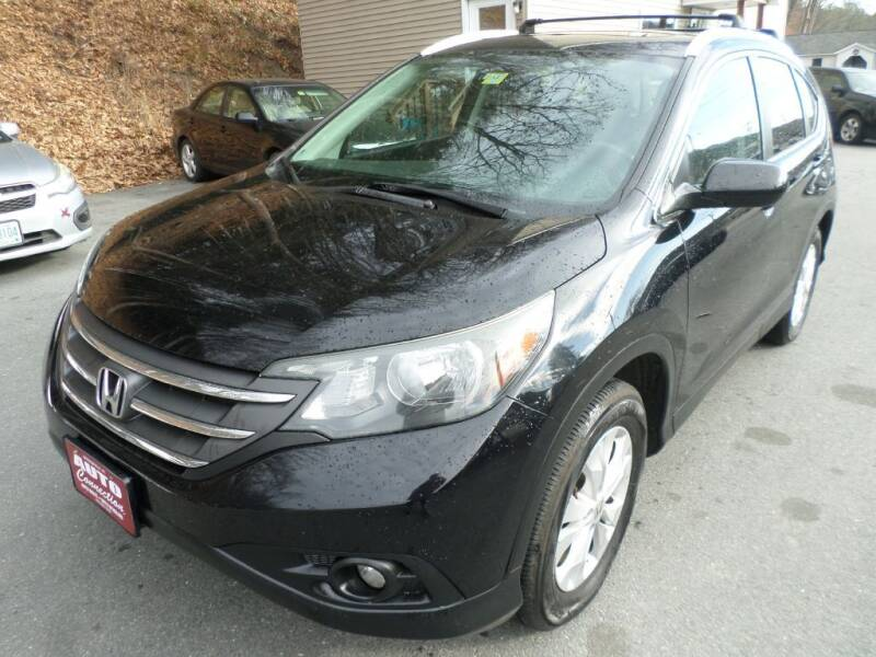 2014 Honda CR-V for sale at AUTO CONNECTION LLC in Springfield VT