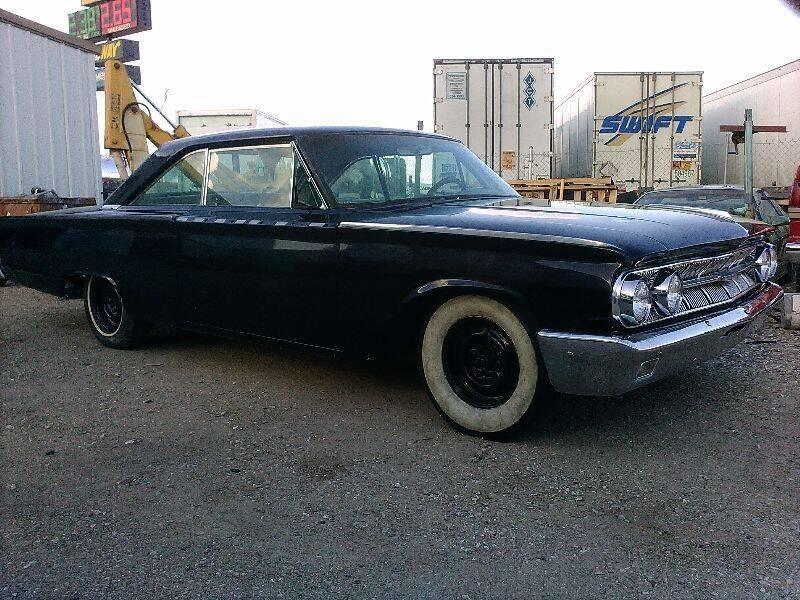 1963 Mercury Marauder for sale at Collector Car Channel - Desert Gardens Mobile Homes in Quartzsite AZ
