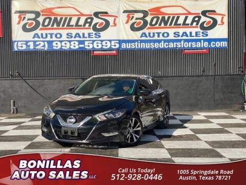 2017 Nissan Maxima for sale at Bonillas Auto Sales in Austin TX