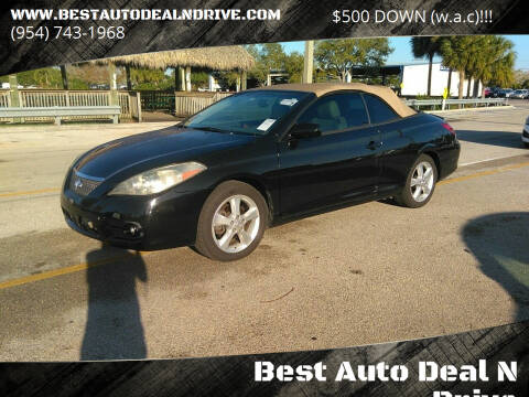 2008 Toyota Camry Solara for sale at Best Auto Deal N Drive in Hollywood FL