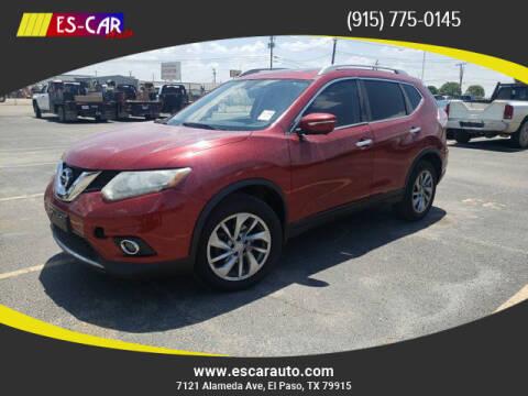2014 Nissan Rogue for sale at Escar Auto in El Paso TX