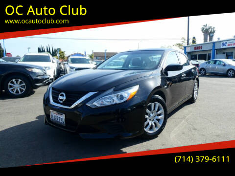 2017 Nissan Altima for sale at OC Auto Club in Midway City CA