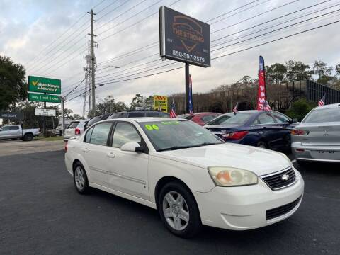 2006 Chevrolet Malibu for sale at The Strong St. Moses Auto Sales LLC in Tallahassee FL