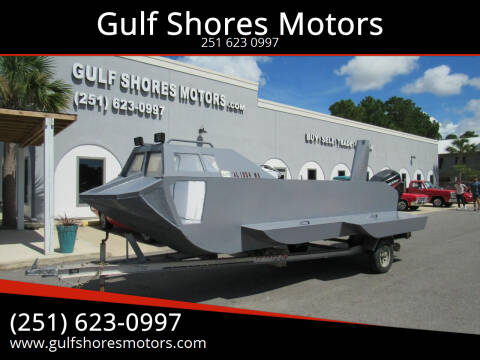 2011 Homemade Aluminium Boat for sale at Gulf Shores Motors in Gulf Shores AL