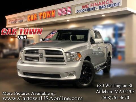 2012 RAM Ram Pickup 1500 for sale at Car Town USA in Attleboro MA