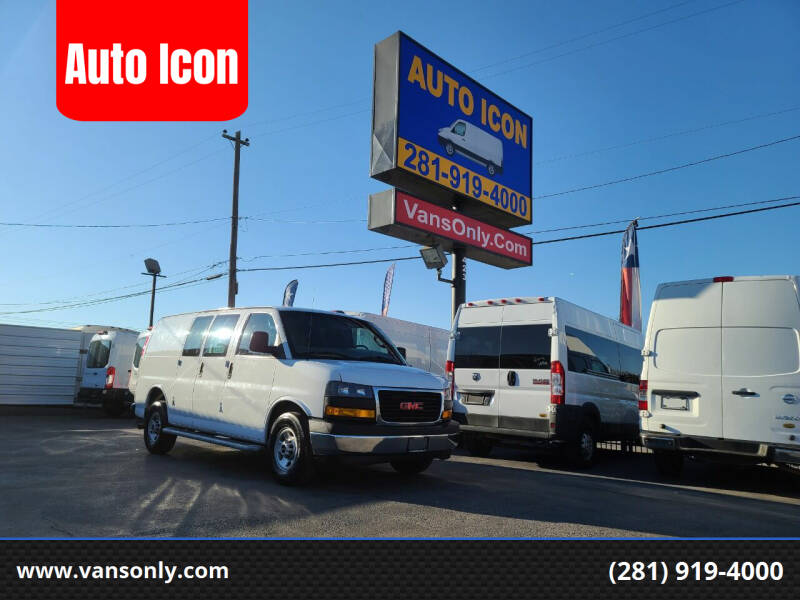 2018 GMC Savana Cargo for sale at Auto Icon in Houston TX