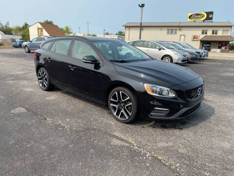 2018 Volvo V60 for sale at Riverside Auto Sales & Service in Portland ME