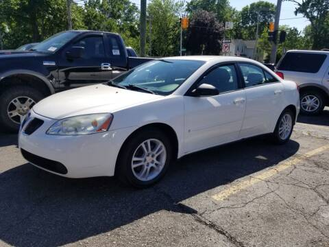 2006 Pontiac G6 for sale at DALE'S AUTO INC in Mt Clemens MI