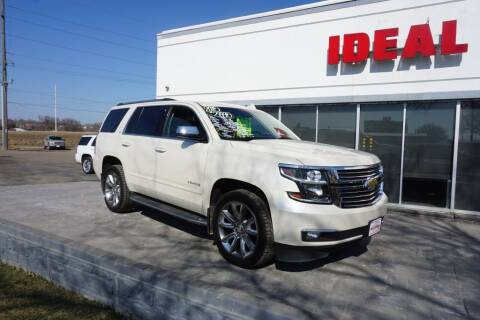 2015 Chevrolet Tahoe for sale at Ideal Wheels in Sioux City IA