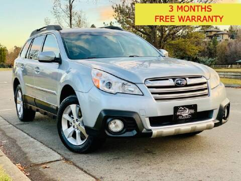 2014 Subaru Outback for sale at Boise Auto Group in Boise ID