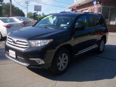2013 Toyota Highlander for sale at Charlies Auto Village in Pelham NH