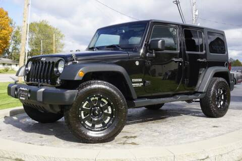 2015 Jeep Wrangler Unlimited for sale at Platinum Motors LLC in Heath OH