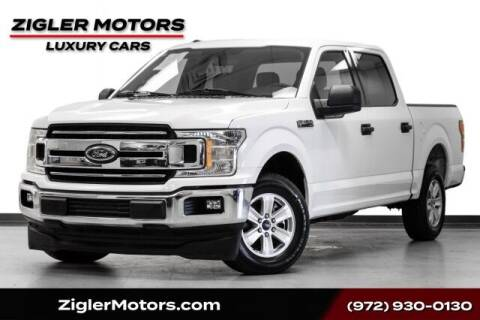 2018 Ford F-150 for sale at Zigler Motors in Addison TX