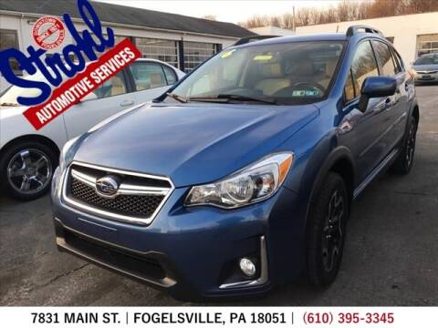 2016 Subaru Crosstrek for sale at Strohl Automotive Services in Fogelsville PA