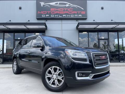 2015 GMC Acadia for sale at Exotic Motorsports of Oklahoma in Edmond OK